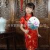 ชุดจีนเด็กหญิง สีแดง