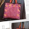 กระเป๋าผ้าแม้ว(ผ้าอุ้มเด็ก) HB381 B /VINTAGE TEXTILE PIECE OF BABY CARRIER FROM VIETNAM SHOULDER BAG HB381 B