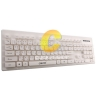 Keyboard OKER (KB-188) White