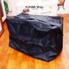 GH092 กระเป๋าถือจัดเก็บเสื้อผ้าใบใหญ่ Keep Bag เดินทาง ใส่ผ้าห่ม ผ้าเช็ดตัว ของใช้ต่างๆ ป้องกันฝุ่น ผ้าทอเคลือบกันน้ำ(#60)