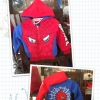 เสื้อแจ็คเก็ตเด็ก สีแดง น้ำเงิน ลายแมงมัม เก๋ เทห์