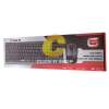 Keyboard+Mouse Wireless OKER (G1000) Black