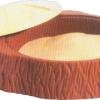 บ่อทรายขอนไม้ SIZE:104X104X26 cm.