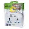 Anitech ปลั๊กไฟ 2ช่อง USB 2 ช่อง 2.1A สาย รุ่น H102