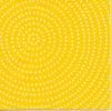 แนวภาพลายแต่ง จุดขาวบนพื้นเหลืองลายวงกลม ภาพโทนสีเหลือง เป็นภาพกระจายเต็มแผ่น กระดาษแนพกิ้นสำหรับทำงาน เดคูพาจ Decoupage Paper Napkins ขนาด 33X33cm
