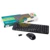 Keyboard Wireless LOGITECH (MK220) Black