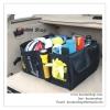 GL117 กระเป๋าใส่ของในรถยนต์ พับเก็บได้ มีหูหิ้ว สีดำ มีช่องใส่ของมากมาย ขนาด กว้าง 56 x ยาว 39 x สูง 26.5 cm.