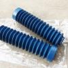 ยางหุ้มโช๊ค XL100 XL125 MTX สีฟ้า เทียม งานใหม่