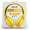 หูฟัง OKER รุ่น SM-952 (สีเหลือง)