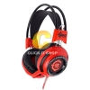 HEADSET SIGNO HP-806 BLACK/RED