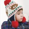 หมวกไหมพรมเด็ก ลายหมีน้อยมาใหม่ ลายน่ารักๆ สีสันสดใส ใส่ได้ทั้งเด็กชายและเด็กหญิง