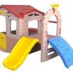บ้านหรรษากระดานลื่น SIZE:190X260X142 cm.
