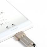 อุปกรณ์เชื่อมต่อมือถือและอุปกรณ์อื่น(Android) RA-OTG USB สีเงิน- REMAX