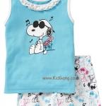 ชุดนอนเด็ก Gap_Baby ลาย Snoopyไซส์ 3,5,7 ปี