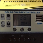 Solar Charge Controller 20A+ 2 USB