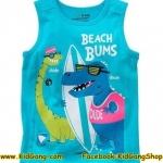 เสื้อกล้ามเด็ก ลาย Beach Bums ไซส์ 18-24ด,2,4,6ปี
