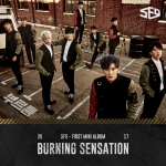 [Pre] SF9 :1st Mini Album - Burning Sensation +Poster
