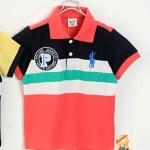 เสื้อ CI&SI โปโลแดง ไซส์ 90-100-110-120-130