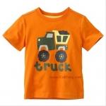 เสื้อเด็กเนื้อนิ่ม ลายOrange_Truck ไซส์ 18-24ด