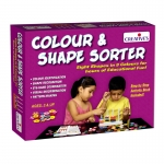 Creative Educational Aids - Colours & Shapes Sorter