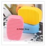 GK105 แปรงซิลิโคน สำหรับซักชุดชั้นใน หรือ ซักปกคอเสื้อผ้า