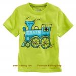 เสื้อเด็กเนื้อนิ่ม ลาย Train1 ไซส์ 18-24ด,2,4,5,6 ปี