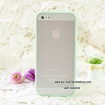 TPU+PC Transparent edge Case Cover For iphone 4/4s