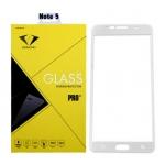 Diamond ฟิล์มกันรอยมือถือ ฟิล์มกระจกนิรภัย Samsung Note 5 เต็มจอ สีขาว ซัมซุงโน๊ตห้า