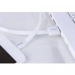 สายชาร์จโทรศัพท์มือถือ และถ่ายข้อมูลไว ยี่ห้อ Powermax รุ่น Sync & Charge IOS USB รุ่น U-10 สีขาว