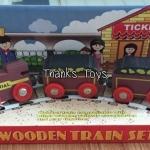 ขบวนรถไฟ Wooden Train Set