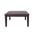 โต๊ะญี่ปุ่น 75x75xh40 ซม.สีโอ๊ค สำหรับวางในห้องนั่งเล่น ร้านกาแฟ