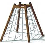 ปิรามิดเชือก (ไม้) ขนาด 1.69x1.69x2.5 ม