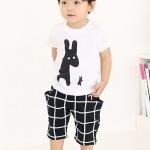 ชุดเซตเด็ก เสื้อ + กางเกง เก๋ๆ น่ารักสไตล์เกาหลี