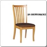 เก้าอี้ไม้ พนักพิงกว้าง นั่งสบาย รับแผ่นหลังได้อย่างดี (FZ-COLLECTION)