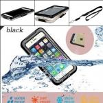 เคสกันน้ำ เคสไอโฟน 6 สีดำ กันนำ้ได้ดี 100 % พกพาสำหรับเดินทาง