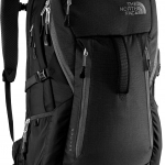 The North Face - Router Travel Backpack (สีดำ/โลโก้ขาว) New !!!