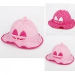 ฺฺฺฺฺฺฺฺBB027 หมวกปีก ลายสวยหวาน หน้าหมวกแต่งด้วยหูน้องแมว ปักผ้าลายหนวดแมว ด้านในหมวกมีโครงพลาสติก ช่วยให้หมวกอยู่ทรงคะ มี 2 สี ชมพูอ่อน ชมพูเข้ม