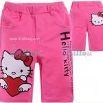 กางเกงเด็กKitty สีชมพูเข้ม ไซส์ 95,100,110,130,140