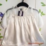เสื้อขาวตัวยาว LUX(Baby Shelter) ไซส์ 6-12ด,1-2Y,4-5Y