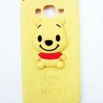 เคส Samsung A7 เคสแบบฝาหลังซิลิโคน ลายหมีพูห์