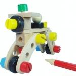 รถขันน็อต 30 ชิ้น ของ plan toys