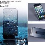 Tronta ฟิล์มหุ้มกันน้ำ กันฝน Iphone 5/ 5s /5E ไอโฟน5