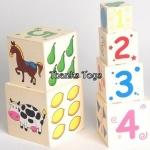 กล่องไม้ 6 ชั้น (High 6 stacking boxes)
