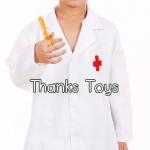 ชุดเสื้อกาวน์คุณหมอเด็ก