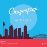 [Pre] Crayon Pop : Photobook - Crayon Pop in Australia (Normal Edition)