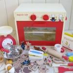ชุดเตาอบขนมคุกกี้ สีแดง ของ Gaspard & Lisa (Gaspard & Lisa Red Cookies Oven)