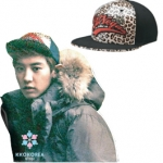 [Pre] EXO : Chanyeol St. URBAN SWAGGER FITTED CAP 313 (BW)
