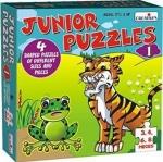 Creative's ของเล่นเสริมทักษะ จิ๊กซอว์กระดาษ Pre-School ชุด Junior Puzzles 1.