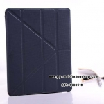 Belk 4 Folding Y Style Folio SmartCover leather Stand Case For Ipad Air