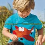 เสื้อเด็กเนื้อนิ่ม ลาย Airplan ไซส์ 18-24ด,2,3,4,5,6 ปี